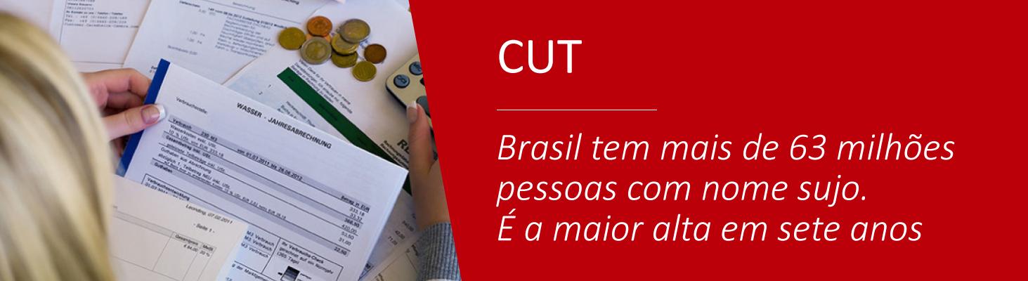 Brasil tem mais de 63 milhões pessoas com nome sujo. É a maior alta em sete anos