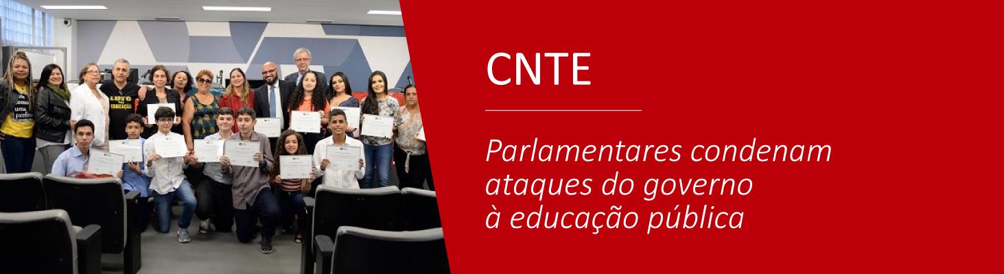 Parlamentares condenam ataques do governo à educação pública