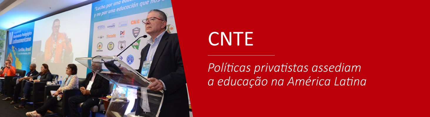 Políticas privatistas assediam a educação na América Latina