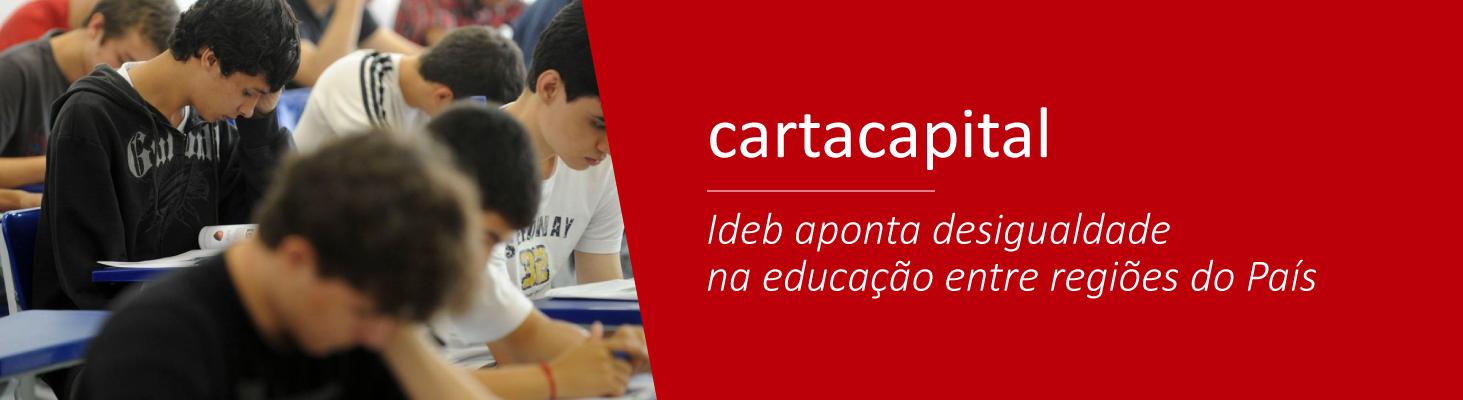 Ideb aponta desigualdade na educação entre regiões do País
