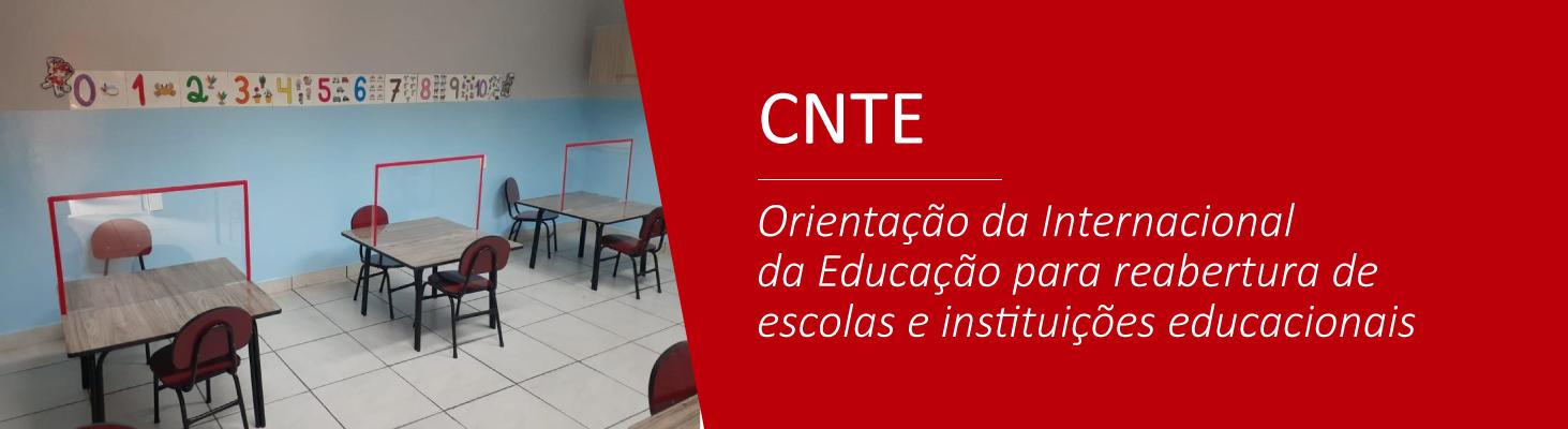 Orientação da Internacional da Educação para reabertura de escolas e instituições educacionais